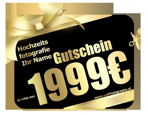 Fotografie Gutschein
