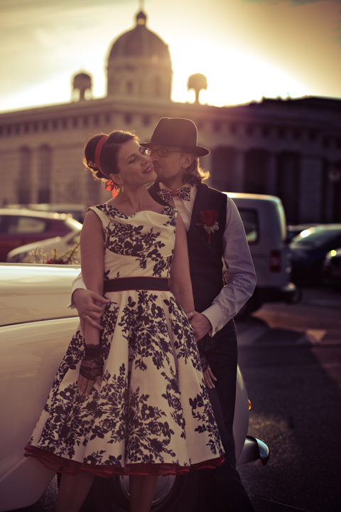 Hochzeitsfotografie in Wien