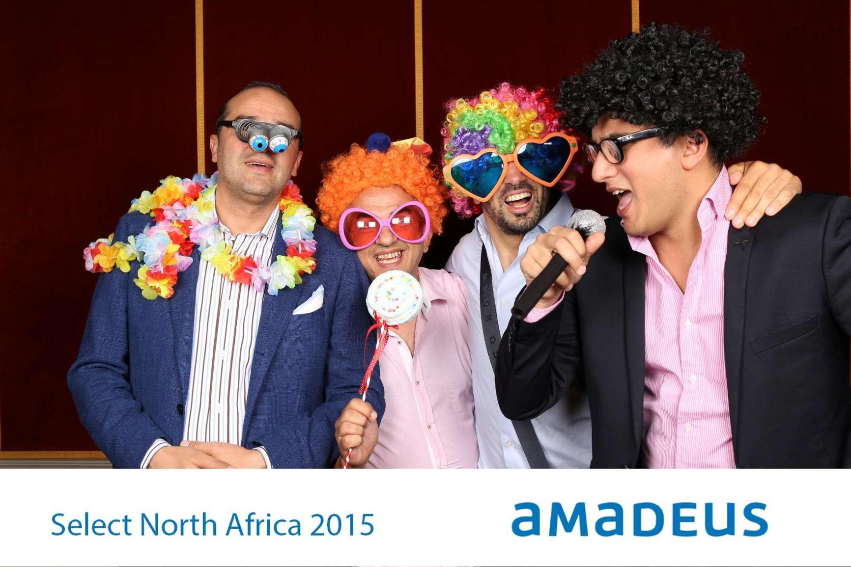 Fotobox für Amadeus